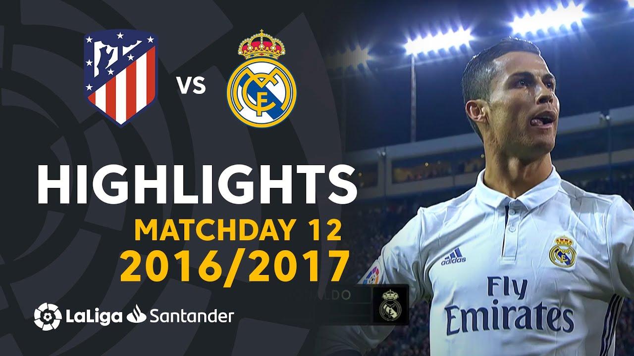 Download Resumen de Atlético de Madrid vs Real Madrid (0-3) J12 2016/2017