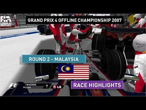 Grand Prix 4 OC 2007   Round 2   Malaysia   Race Highlights