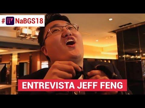JEFF TEM UM SEGREDO - Influverse entrevista Jeff Feng em inglês