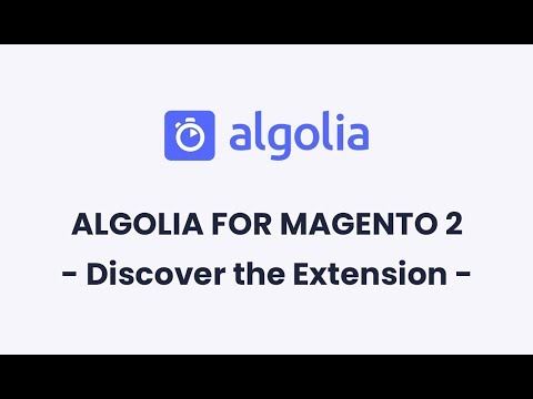 Magento Search Extension Powered by Algolia
