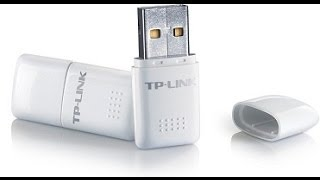 tp link wireless usb adapter setup unboxing first use