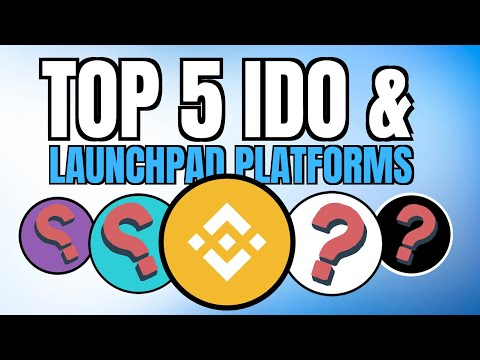 Major Crypto Trend Top 5 Crypto Launchpads And Ido Platforms Bitcoiner Tv