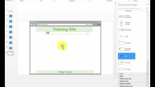 Creating Web Site Storyboard using MS PowerPoint