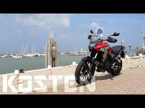 Honda CB500X (2019): Was mich Motorradfahren jetzt kostet | Piotrrr Moto