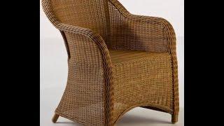 Делаем плетеную мебель: матсер класс, видео