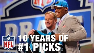 Here are the last 10 players who have had the honor of being drafted number 1 overall in the NFL Draft. Subscribe to NFL: http://j.mp/1L0bVBu Start your free ...