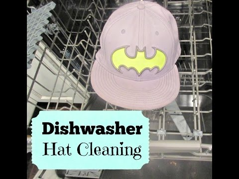 Cleaning Hat with Dishwasher