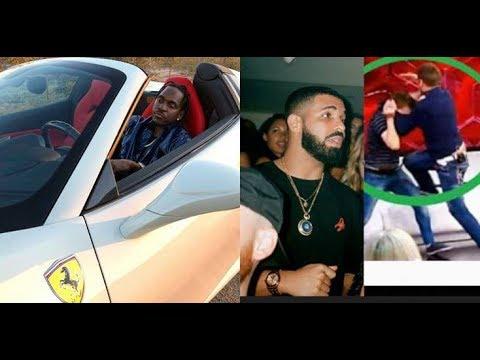 Pusha T Security Beat Drake Affiliate After Throwing Beer,Pusha T Diss Drake..DA PRODUCT DVD