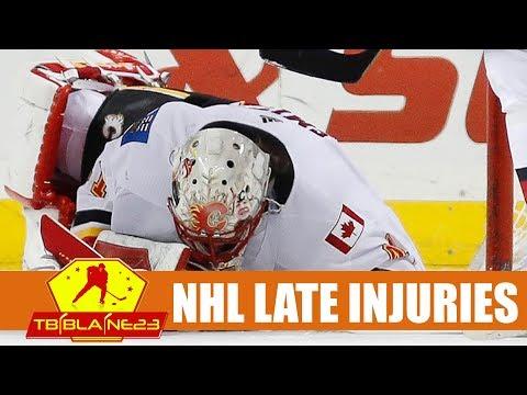 NHL Late Injuries