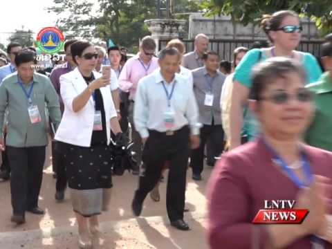 Lao NEWS on LNTV: Laos, development partners to strengthen ties for effective cooperation.28/11/2016