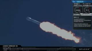 Blastoff! SpaceX Launches Koreasat-5A Communications Satellite