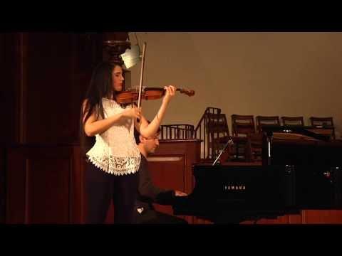 Aisha Syed performs 'La Campanella' by Paganini