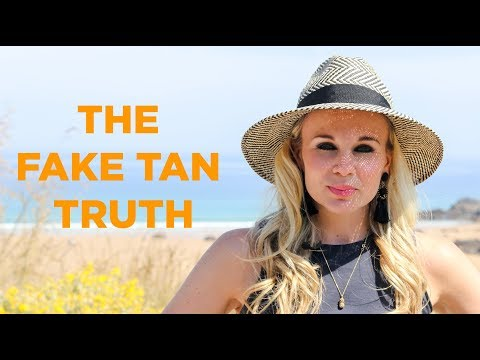 CAN I GET SKIN CANCER FROM FAKE TAN?