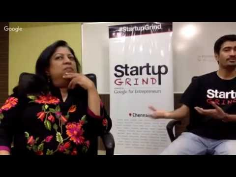 Startup Grind Hosts Hemu (Founder - Landmark & Angel Investo