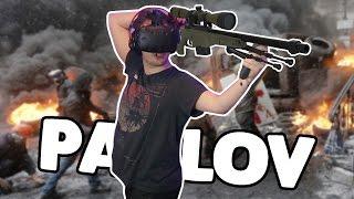 360 NO SCOPES IN REAL LIFE! | Pavlov VR (HTC Vive Gameplay)