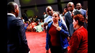 UNBELIEVABLE HEALING! A woman with a pipe linked to her heart and kidney failure healed - Alph LUKAU