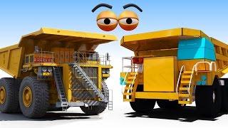 CUBE BUILDER for KIDS (HD) - Build a Monster Dump Truck for Children - AApV