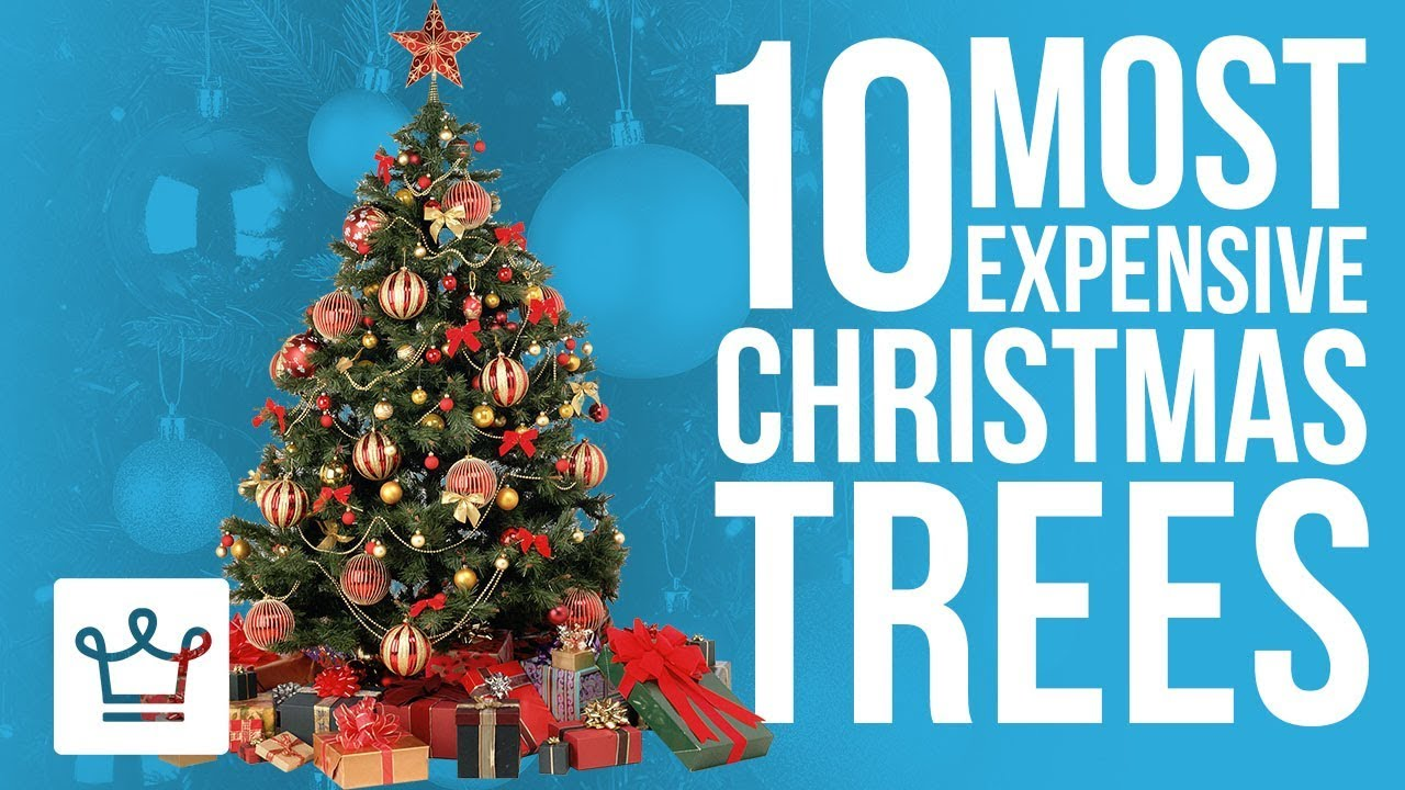 Top 10 Most Expensive Christmas Trees In The World - YouTube