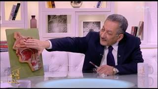 الحكيم في بيتك   د. أشرف رجب يتحدث عن الجيوب الأنفية ومكوناتها
