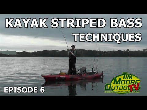 Episode 6:  Kayak Striped Bass Techniques