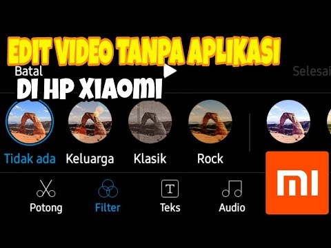 Cara Edit Video Tanpa Aplikasi Di Semua Hp Xiaomi Youtube