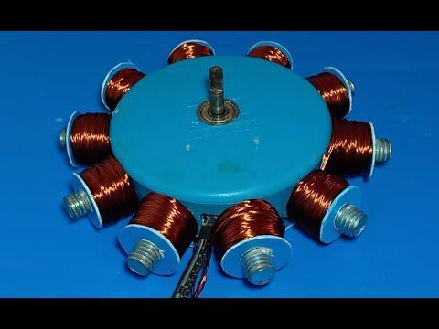Смотрите сегодня 45Kw DC Brushless motor construction видео новости
