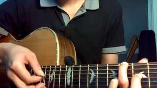 Anh không xứng Yanbi ft MrT - Hướng dẫn Guitar Cover - Hợp âm