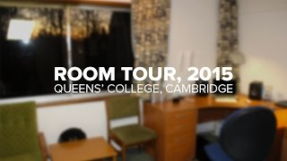Cambridge Room Tour, Erasmus 2015