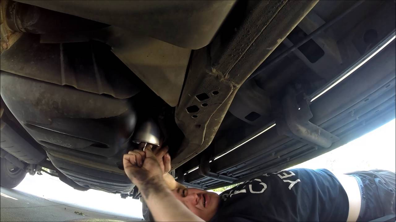ford expedition fuel filter change - youtube  youtube
