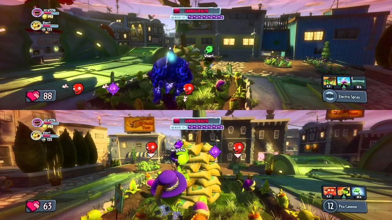 Plants Vs Zombies Garden Warfare Multiplayer Local Youtube