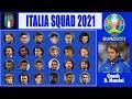 DAFTAR PEMAIN ITALY UNTUK EURO 2021