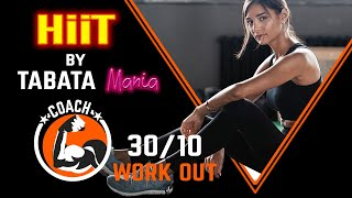 TABATA 30/10 - Workout music w/ TIMER - by NCS & TABATAMANIA