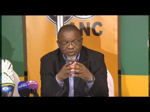ANC briefs media on outcomes of the special NEC