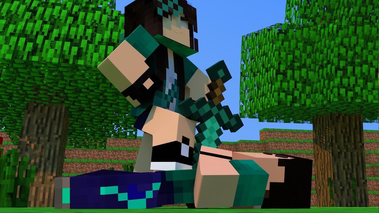 Minecraft Com The Game : Minecraft com namorada helena pvp challenge games lucky