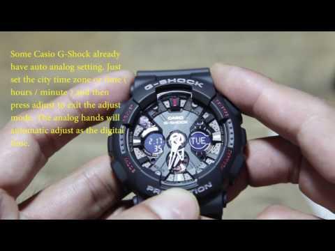 90642d4c0c Casio G-Shock Basic Setting ( GA-120 ) - YouTube