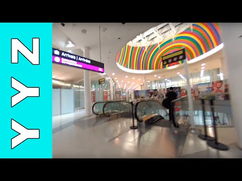 Toronto Pearson Airport (YYZ) Arrival - Video Tour (Updated)