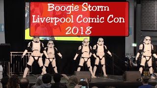 Boogie Storm - Live in Liverpool Comic Con 2018