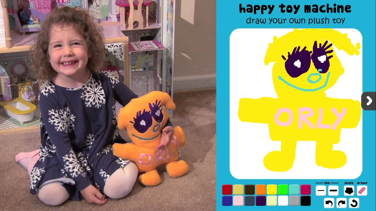 Draw Your Own Plush Toy - Crowdfunding Campaign From Happy -4677