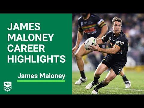 James Maloney Career Highlights