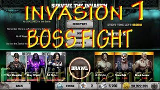 WWE IMMORTALS ZOMBIE INVASION 1 BOSS FIGHT