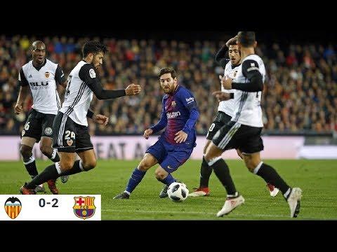 Season 2017/2018. Valencia CF - FC Barcelona - 0:2