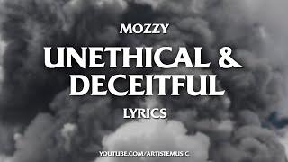 Mozzy - Unethical & Deceitful (Lyrics Video)