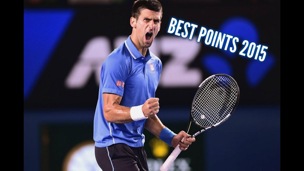 Djokovic Best Points 2015 HD - YouTube