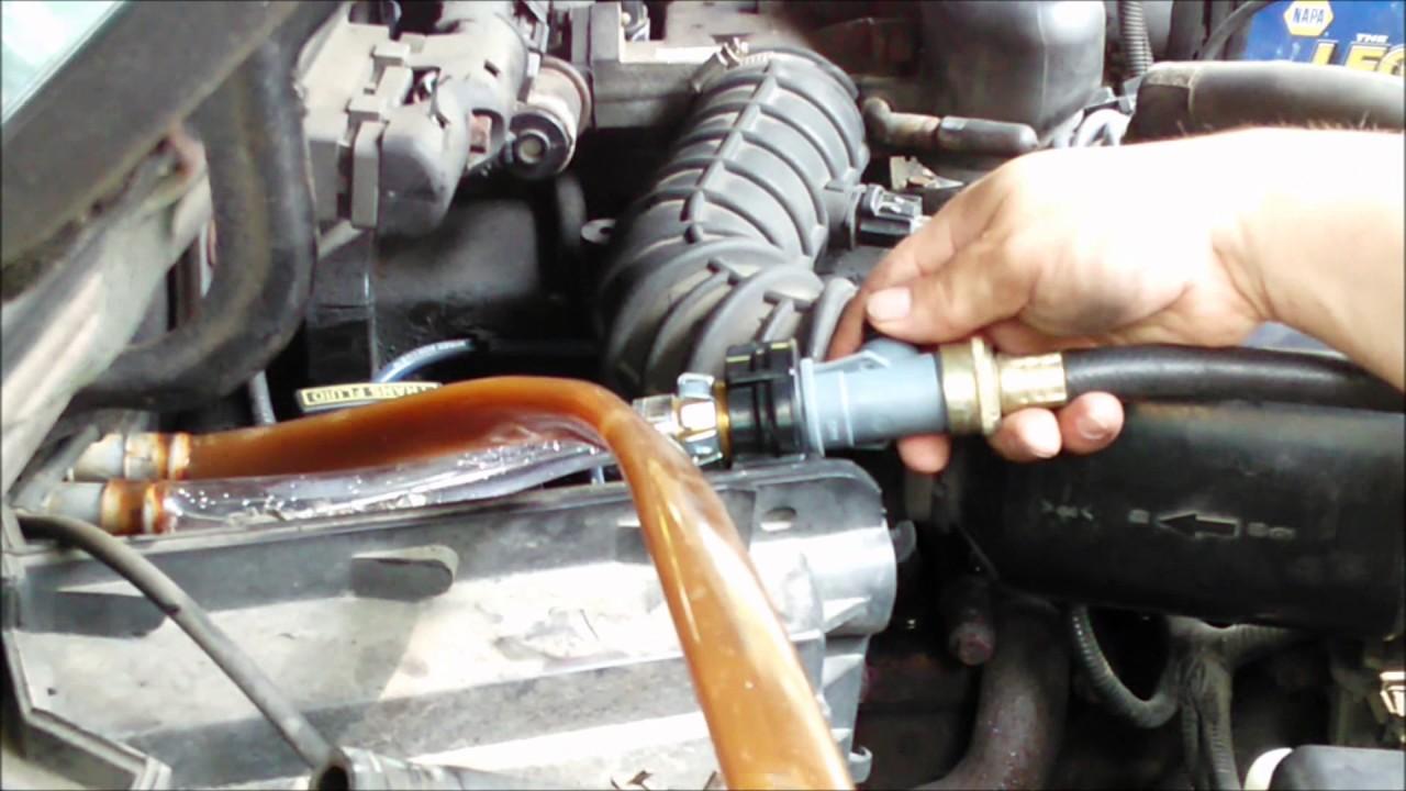 Howto 1997 Ford Ranger Heater Core Flush Youtube