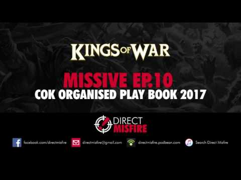 Direct Misfire Missive: CoK organised play book 2017