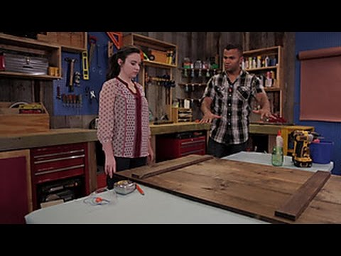 How To Assemble a Wood Tabletop - DIY Network