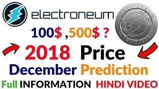 Electroneum Coin Price Predication Till December 2018 Full Information Hindi/Urdu Video