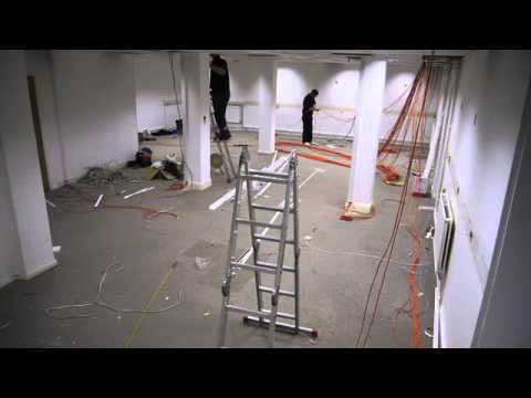 Office Refurbishment - The Invisible Painter