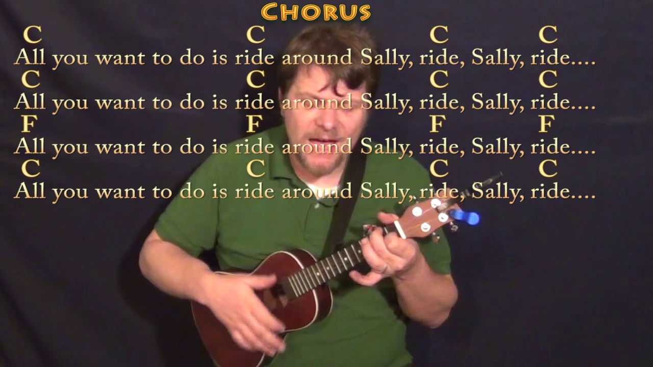 Mustang Sally Wilson Pickett Ukulele Cover Lesson In C With Chords Lyrics Youtube