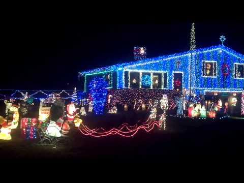 Amazing Christmas Lights  Naugatuck, CT  Part 2